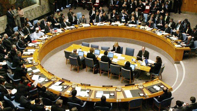 De VN-Veiligheidsraad in New York is opgeroepen om oorlogsmisdaden in Syrië te laten onderzoeken door het Internationaal Strafhof (ICC) in Den Haag. Beeld anp