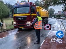 Straks rondweg bij Milsbeek, maar eerst nog meer vrachtauto's over Zwarteweg