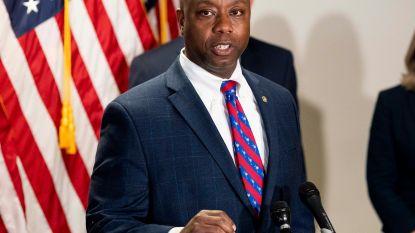 """Zwarte Republikeinse senator vindt white power-retweet Trump """"beledigend"""""""