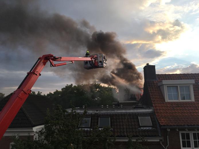 De brand in Nijmegen.