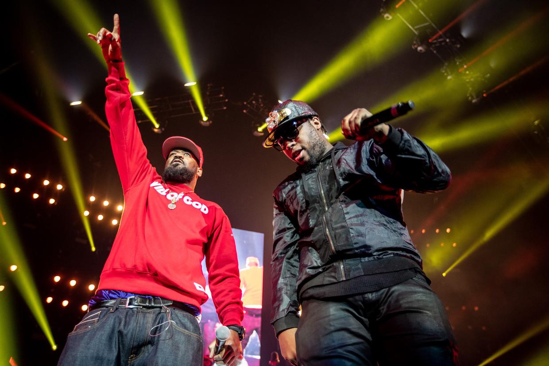 Wu-Tang Clan moest het doen zonder Method Man, maar daar zat niemand mee.