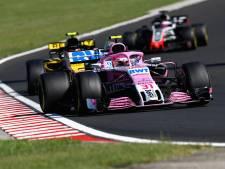 'Drie teams maken redding Force India moeilijker'
