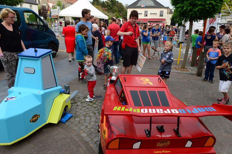 De traditionele zeepkistenrace staat weer op het programma tijdens de Huldenbergse feesten
