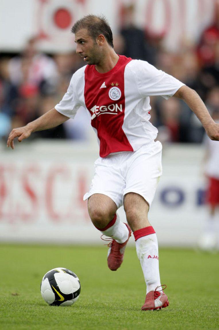 Jong Ajax won met 1-0 door een doelpunt van Kennedy Bakircioglü. Foto ANP/Olaf Kraak Beeld