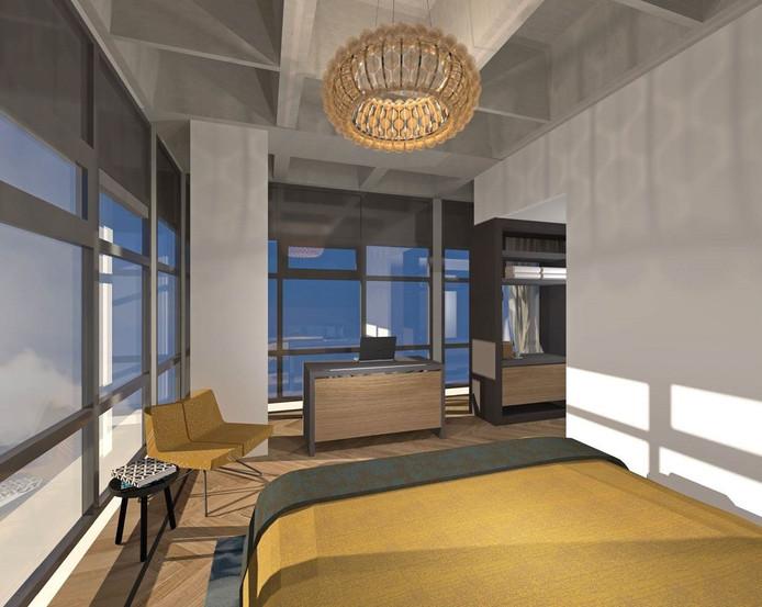 Een kamer in het nieuwe U Parkhotel