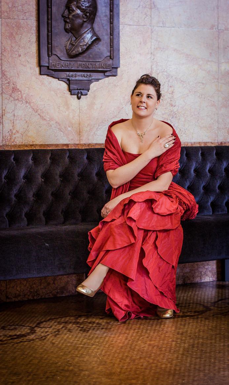 Sopraan Anneke Luyten zingt in de zomerreeks van Het Zeeuws Orkest.