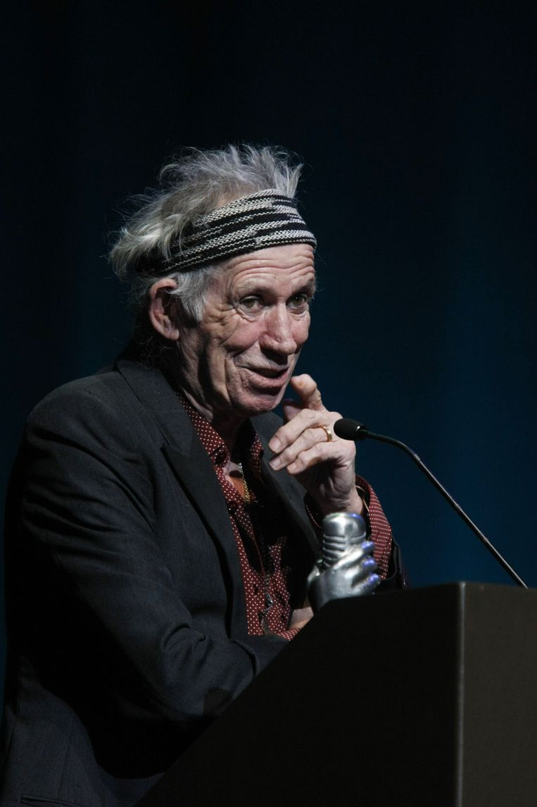 Keith Richards. Beeld ap