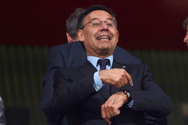 Barça-voorzitter Bartomeu.