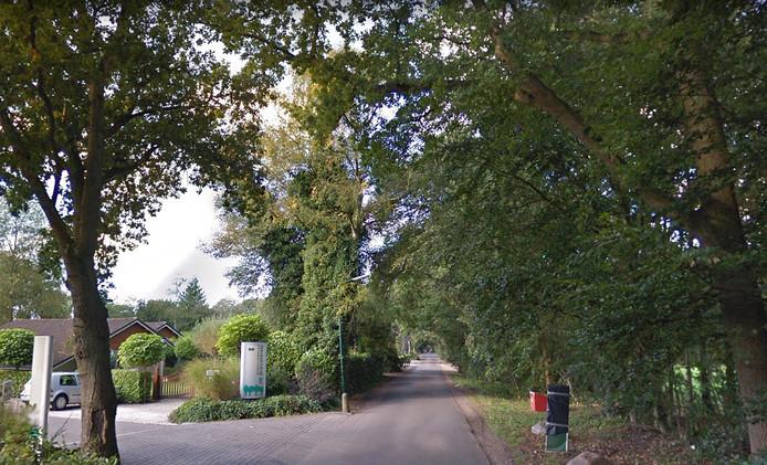 De Graaf Floris V weg in Hollandsche Rading.