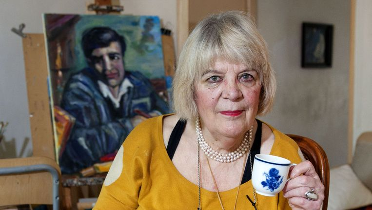 Anna Aarts: 'Die vrouwen zijn niets waard. Hun hoofddoek staat daar symbool voor.' Beeld Olaf Kraak