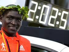 Wereldrecordhouder marathon Kimetto in Zwolle