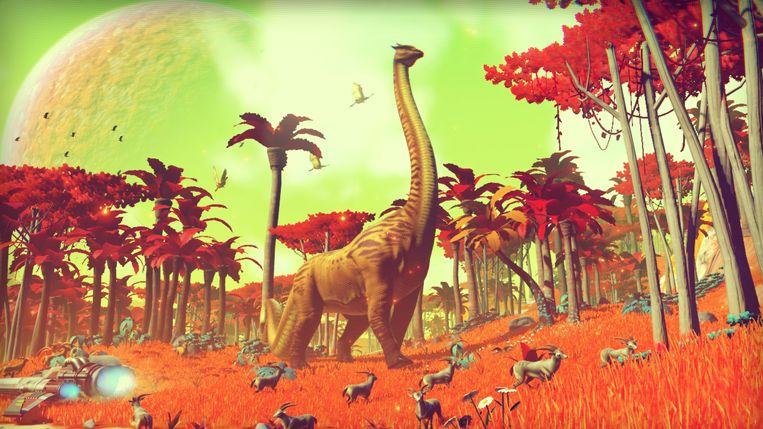 Jurassic Planet? Beeld Hello Games