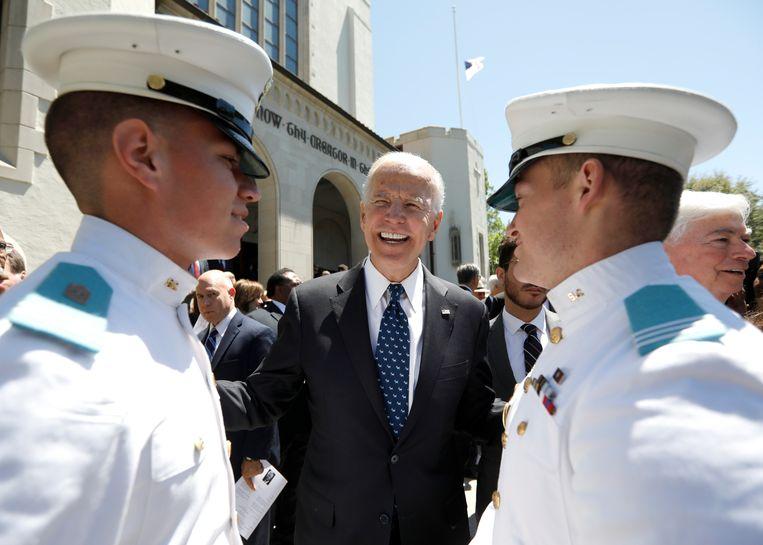 a664bd3be97167 De voormalige vicepresident bezocht vorige week een militaire academie in  South-Carolina. Terwijl tal van andere kandidaten al maanden campagne  voeren