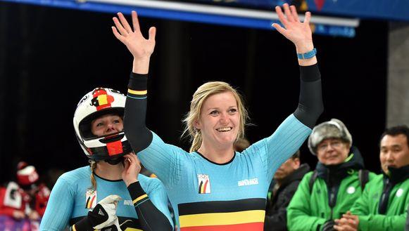 Onze bobsleevrouwen Elfje Willemsen en Hanna Mariën zijn op zoek naar nieuwe atleten.