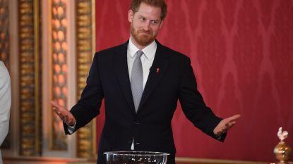 William grote afwezige op eerste solo-event van Harry