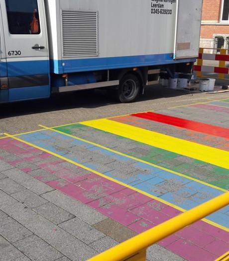 Straatbeeld: Regenboog krijgt weer kleur