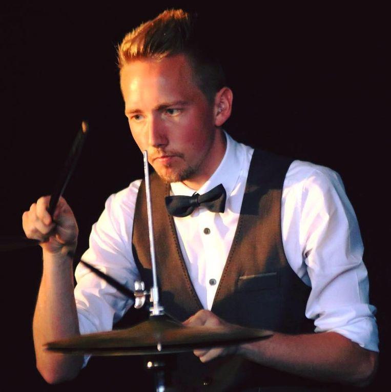 Drummer Jens Reniers.