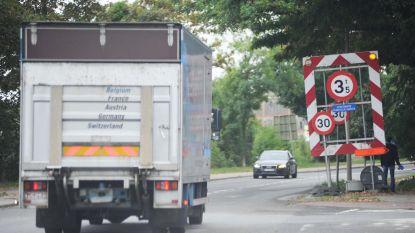 Truckverbod Brusselsesteenweg geschrapt