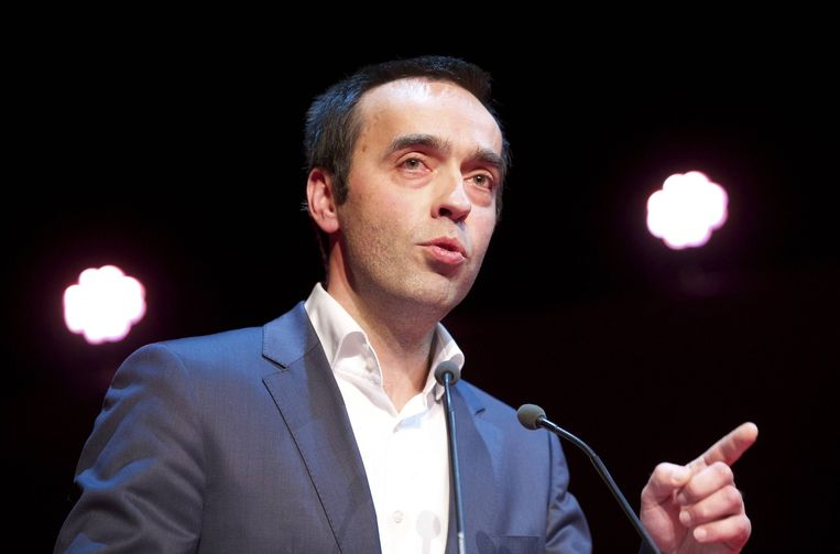 Sp.a-voorzitter Bruno Tobback.
