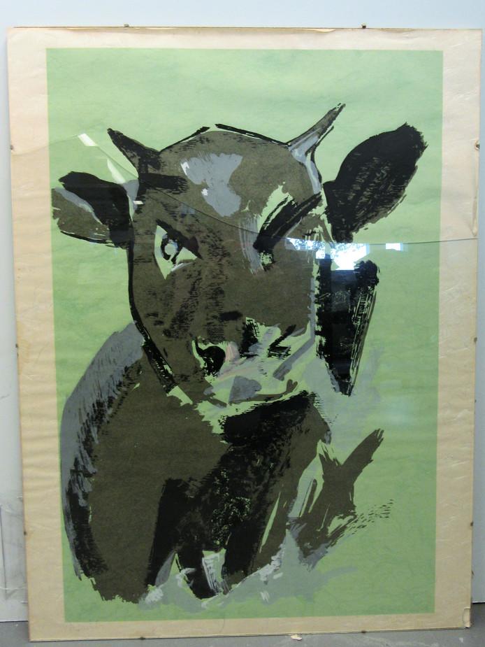 Ook dit kunstwerk is te koop.