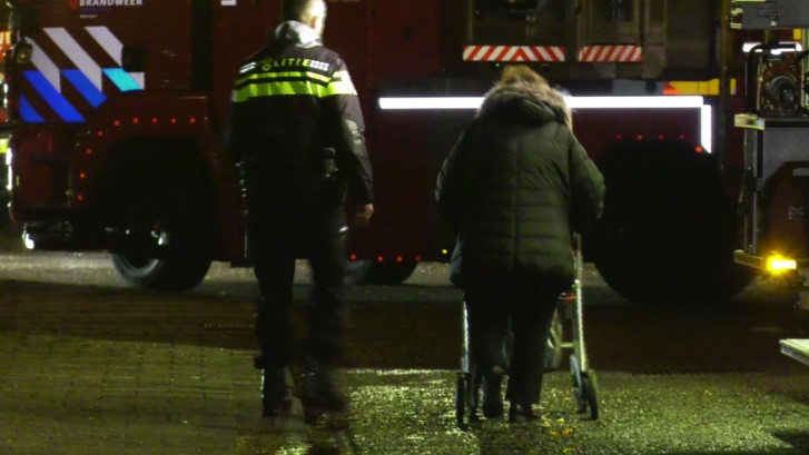 Bewoners naar ziekenhuis na brand in zorginstelling