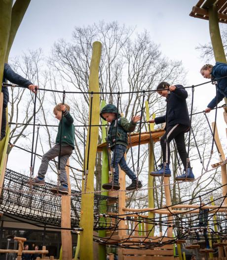 Glijbaan is baken van herkenning in totaal vernieuwde speeltuin Burgers' Zoo