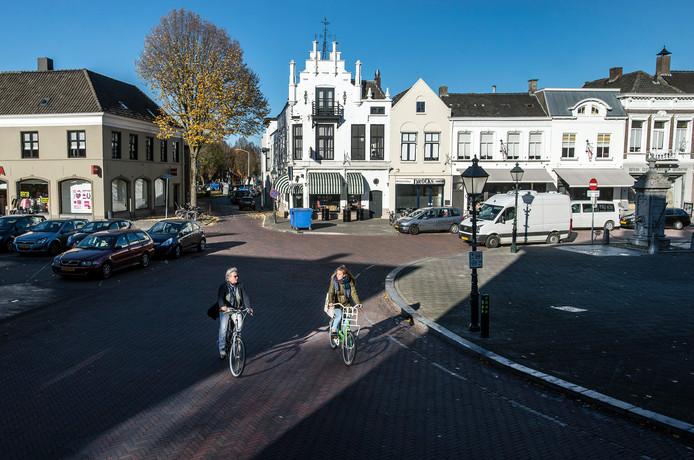 De Haagsemarkt in Princenhage Breda krijgt een facelift. Maart 2019 gaat de eerste schop in de grond.