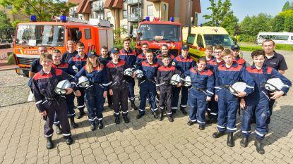 Jeugdbrandweer weer naar defilé in Brussel