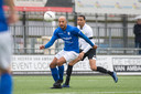 'Veteraan' Berry Powel in actie voor GVVV in de tweede divisie.