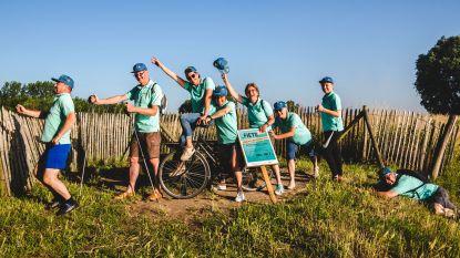 Fietsfans Zulte wandelen, lopen en fietsen voor Kom Op Tegen Kanker