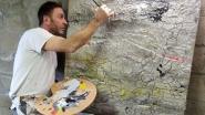 Schilder en cultuurschepen Tom Struys lanceert nieuw kunstenaarsproject in kerk van Attenrode