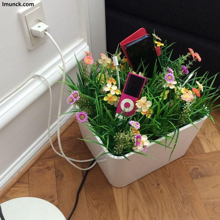 Een producthack om op een slimme manier om kabels op te bergen.