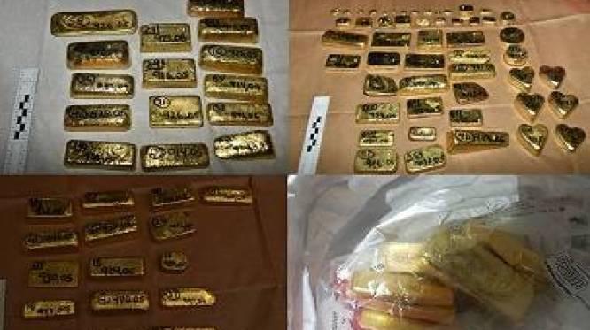 Ruim 100 kilo goud met waarde van 4,5 miljoen euro onderschept op luchthaven in Londen