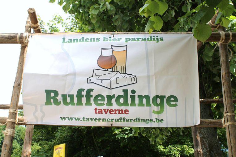 Taverne Rufferdinge was gekend voor haar groot aanbod aan bieren.