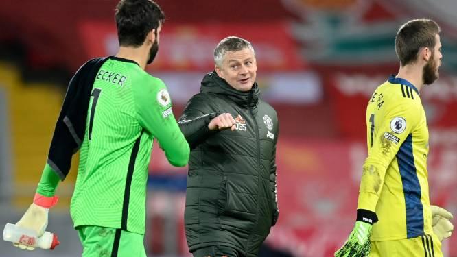 Manchester United doet beste zaken op Anfield na draw, al is vooral Manchester City de lachende derde