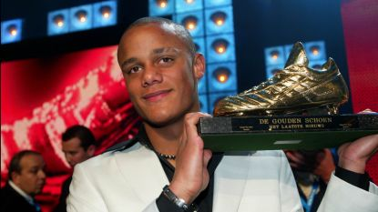 """Terugblik op de Gouden Schoen van vijftien jaar geleden, toen Kompany won: """"Ik heb geweend toen ik Vincent met de Schoen zag staan"""""""