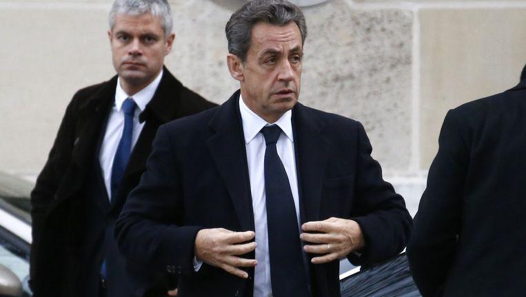 UMP-leider Sarkozy.