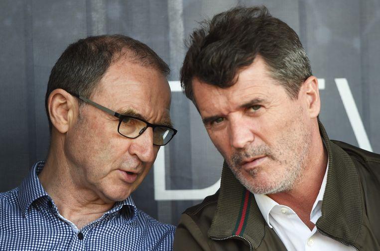 Martin O'Neill met Roy Keane.