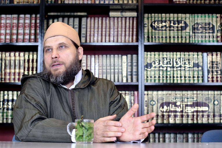 Fawaz Jneid was tien jaar geleden invloedrijk onder Nederlandse jihadisten. Hij raakte op de achtergrond. Beeld null
