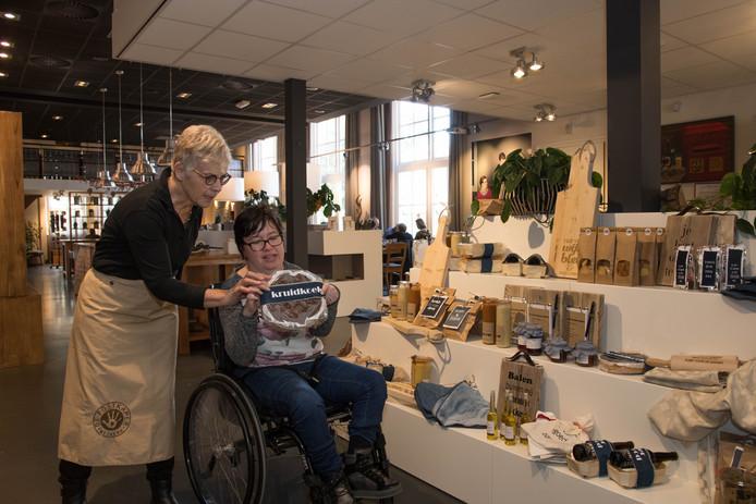 Voor Bianca Vermeer is de nieuwe ruimtelijke opzet in De Postkamer een verademing.