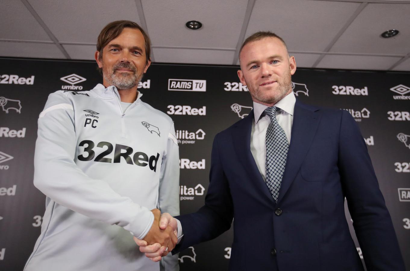 Wayne Rooney et Philip Cocu