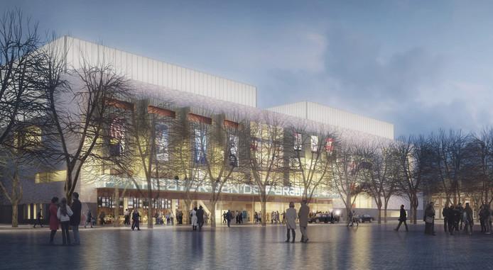 Het nieuwe ontwerp van Theater aan de Parade van Ector Hoogstad Architecten.