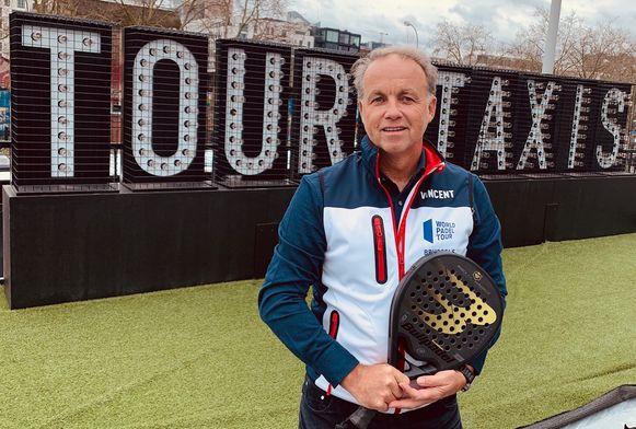 Vincent Laureyssens, voorzitter van World Padel Tour Belgium.