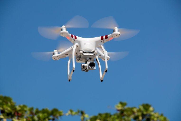 Morgen vliegt de drone van VTM Nieuws om 14 uur boven Damme