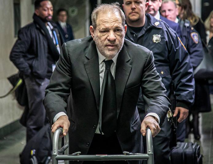 Harvey Weinstein le 16 janvier 2020.