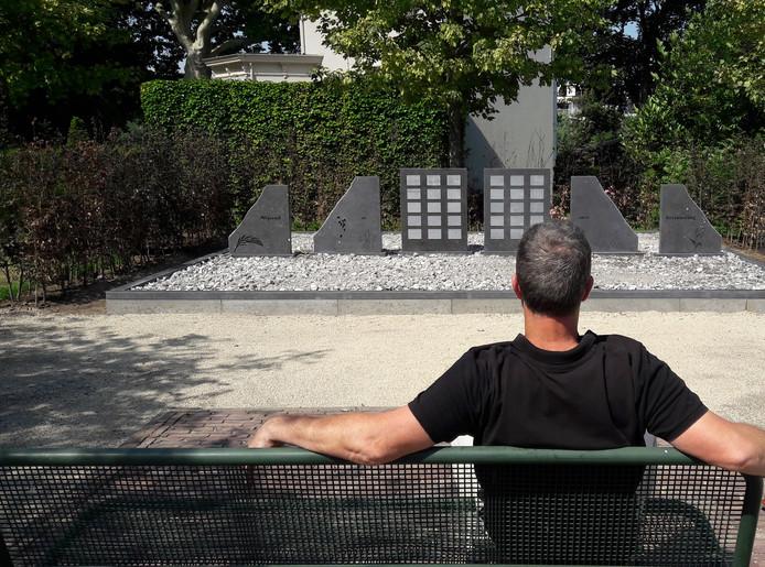 Het nieuwe verzamelgraf op begraafplaats Spindermolen in Hardinxveld-Giessendam. Foto ter illustratie.