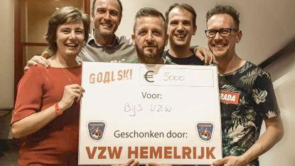 Goalski schenkt 34.000 euro weg aan zes goede doelen