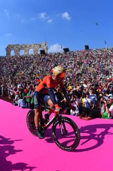 Nibali voor elfde keer op podium in grote rondes, evenveel als Froome