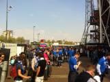 Supporters PEC Zwolle maken zich op voor bekerfinale
