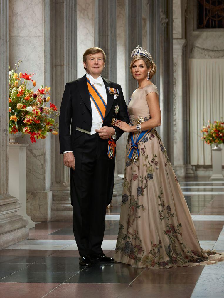 Zijne Majesteit Koning Willem-Alexander en Hare Majesteit Koningin Máxima, maart 2018 Beeld: © RVD - Erwin Olaf Beeld Beeld: © RVD - Erwin Olaf